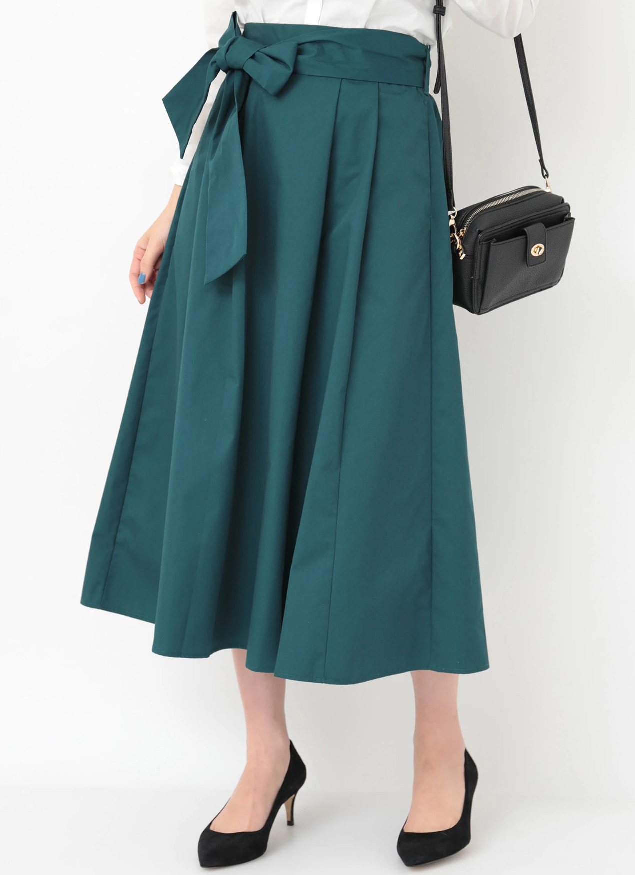 Earth, Music & Ecology Maya Skirt - Blue Green
