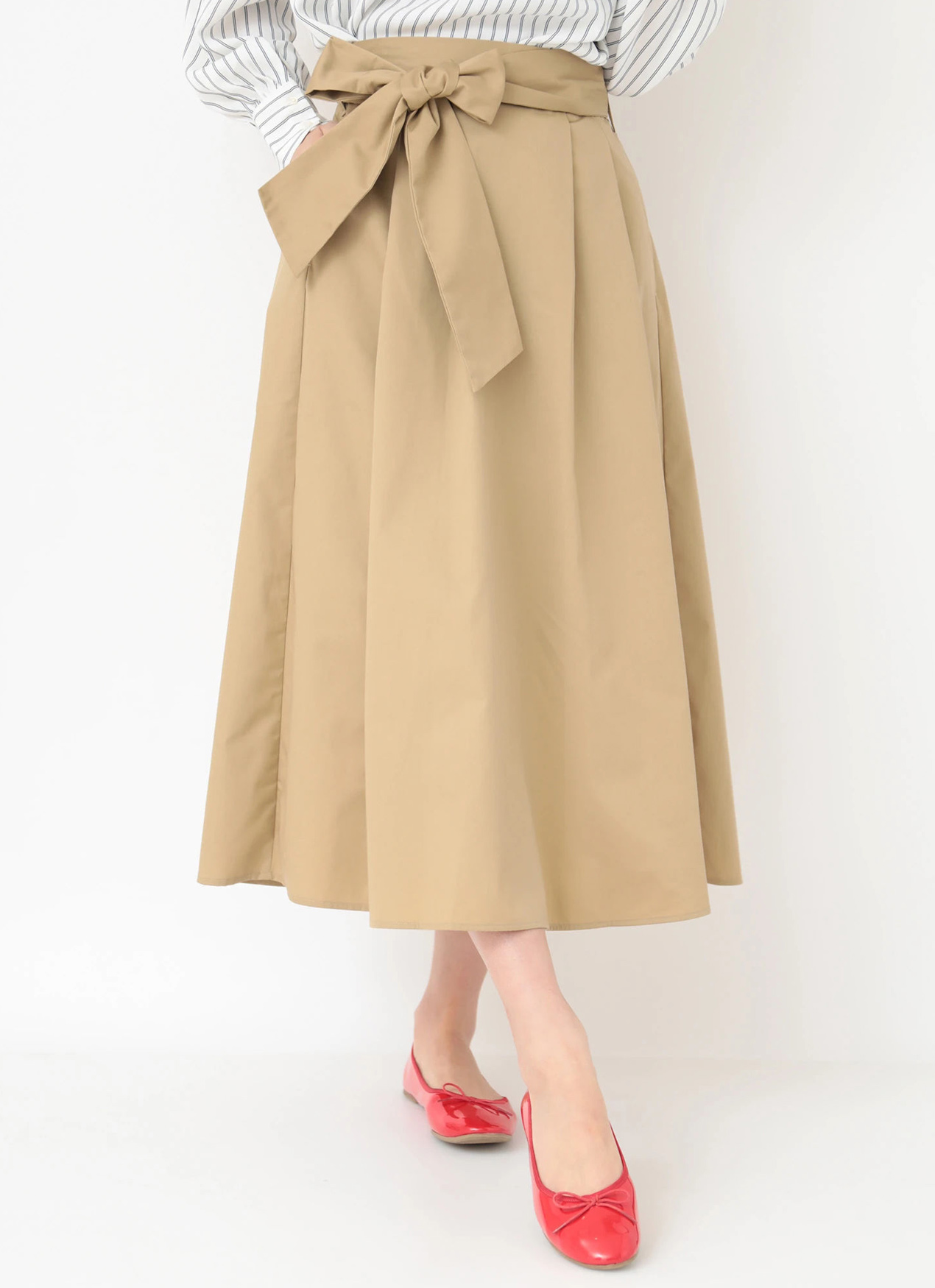 Earth, Music & Ecology Maya Skirt - Beige