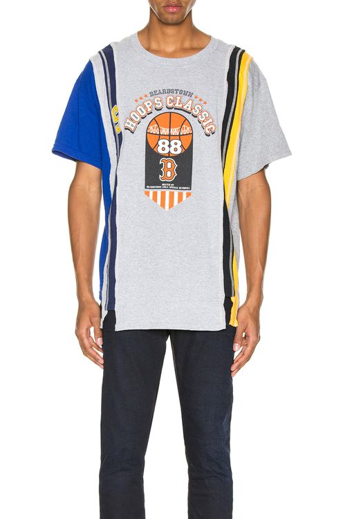 Needles 7 Cuts Wide College S/S Tee