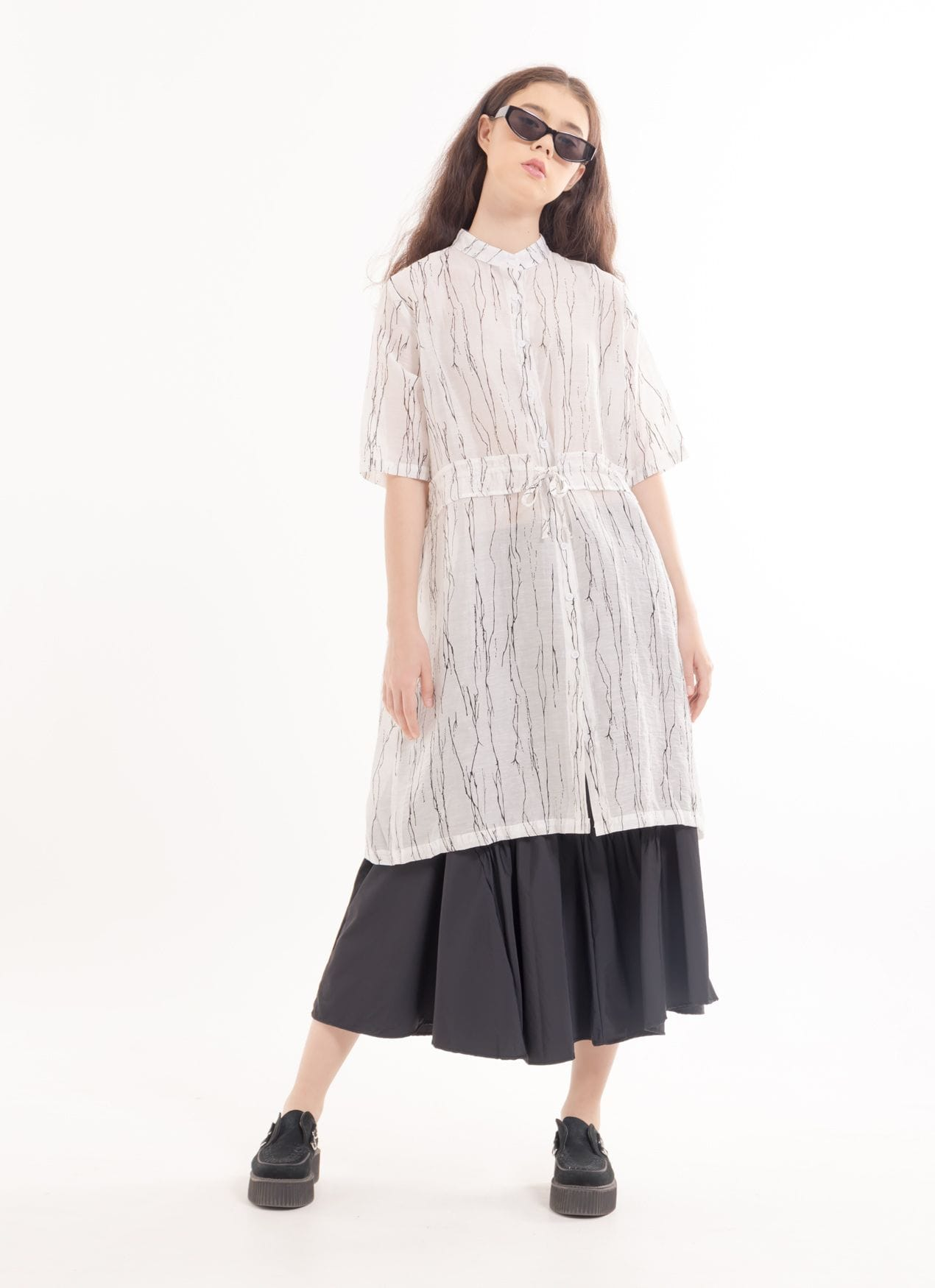 BOWN Bastion Dress - White