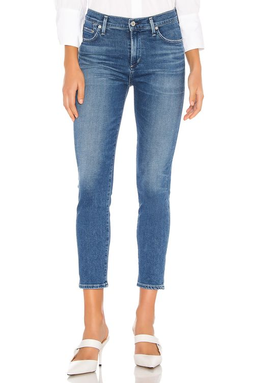 Citizens of Humanity Rocket Crop Sculpt Mid Rise Skinny