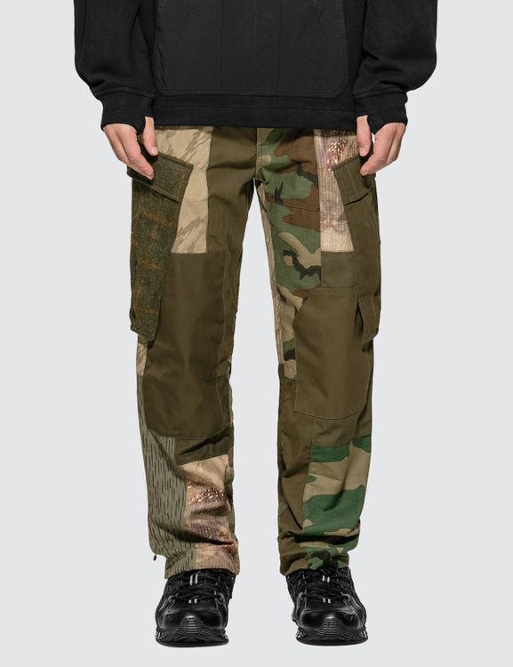 maharishi Upcycled Patchwork Cargo Pants
