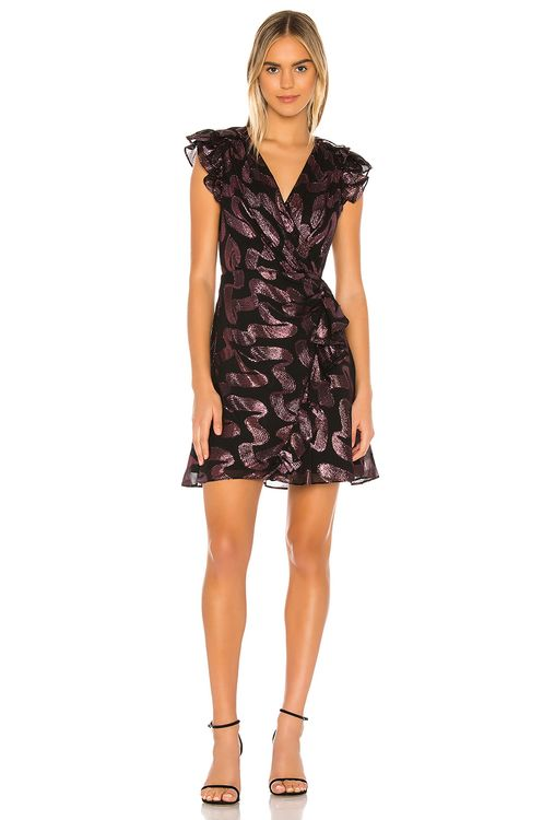 Rebecca Taylor Sleeveless Lurex jacquard Dress
