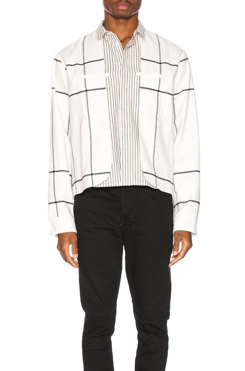 Haider Ackermann Double Layer Shirt