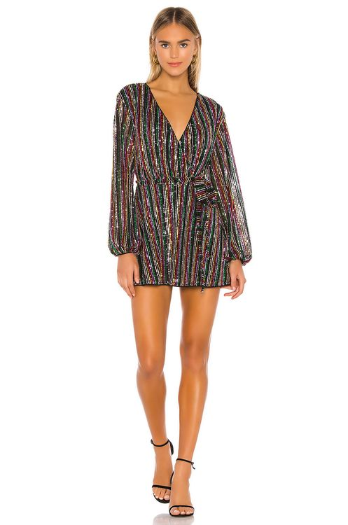Lovers + Friends Laurie Sequin Dress
