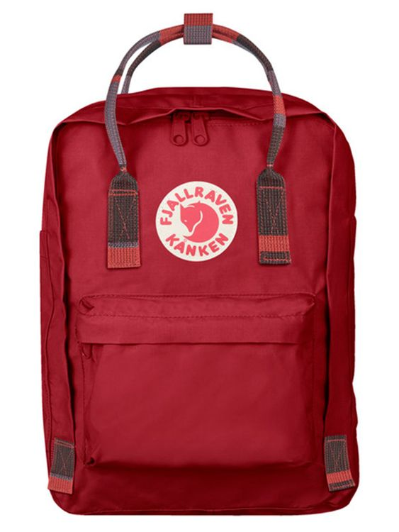 FJALLRAVEN Fjallraven Kanken Laptop 13 Inch Deep Red Random Blocked