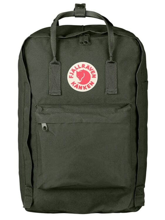 FJALLRAVEN Fjallraven Kanken Laptop 17 Inch Deep Forest