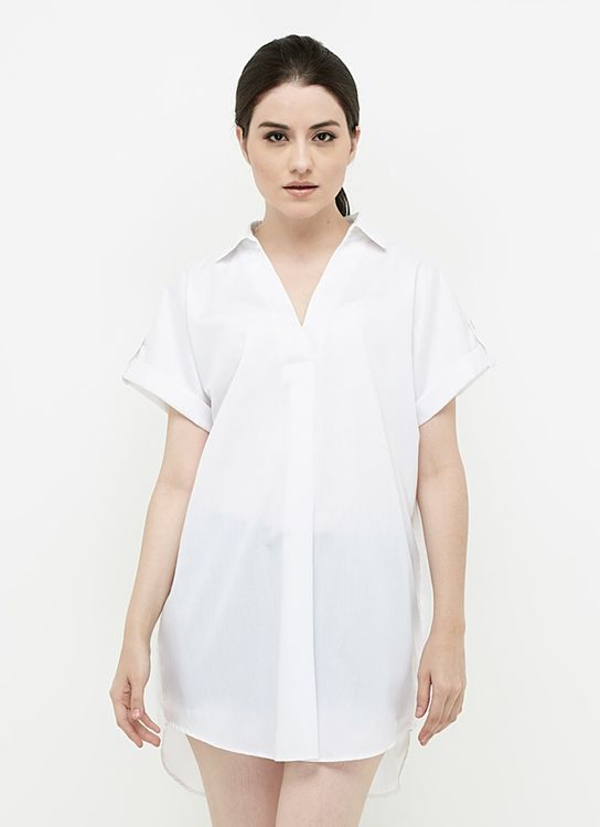 Ree Effortless White Blouse