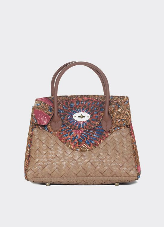 Chameo Couture Eugene 3 Negeri Ruby Hand Bag Red