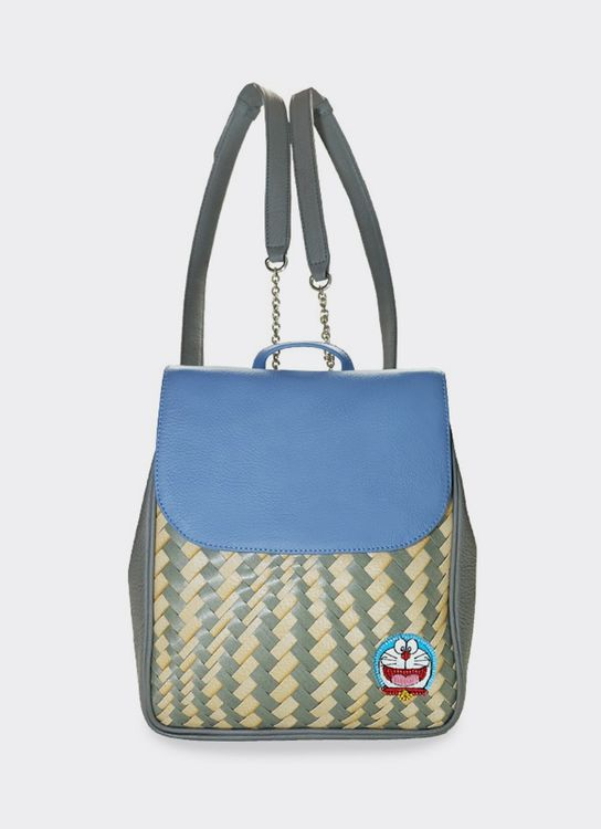 Chameo Couture Sydney Doraemon Backpack Blue