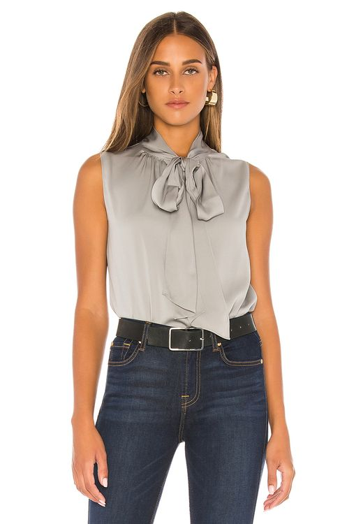Theory Tie Scarf Top