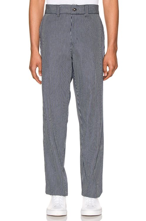 Dickies '67 Slim Fit Twill Hickory Stripe Pant