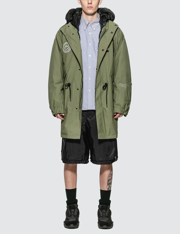 Moncler Genius x Fragment Design Padded Quilted Lining Fishtail Parka