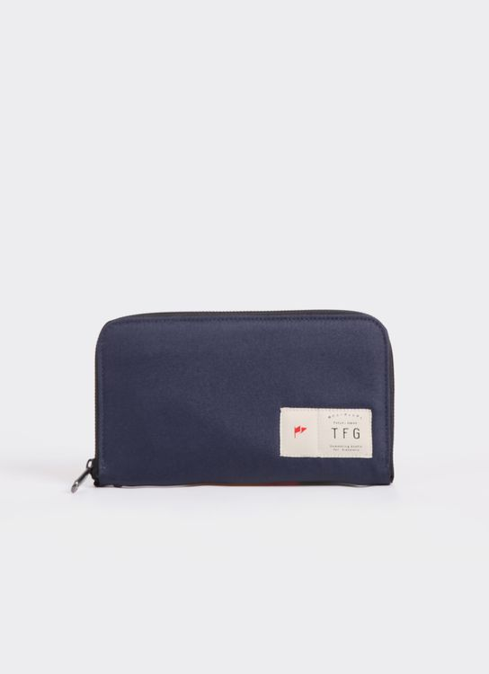 Taylor Fine Goods Blue Taylor Fine Goods Wallet Business 201