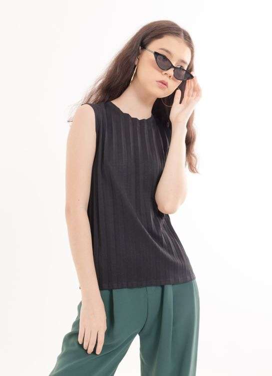BOWN Okoye Top - Black