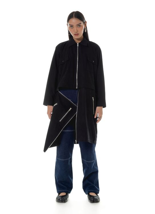 Aesthetic Pleasure Arrow Jacket Black