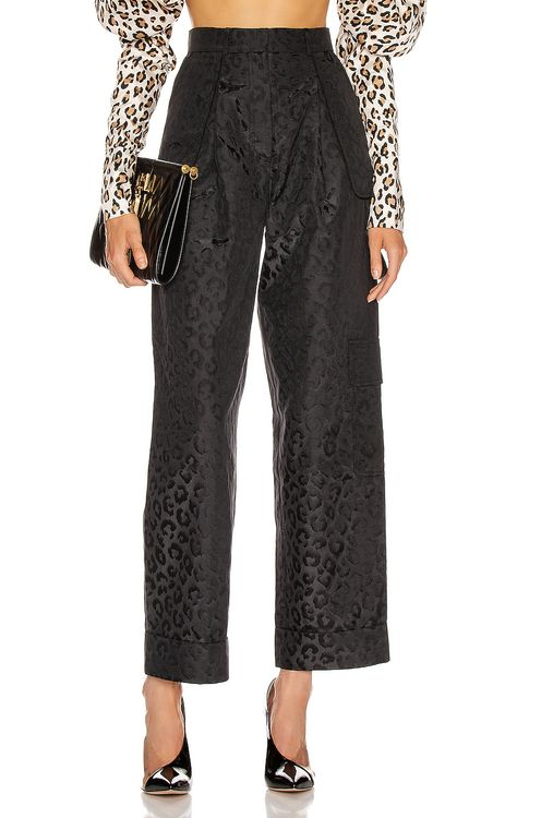 MARIANNA SENCHINA Flared High Waist Pant