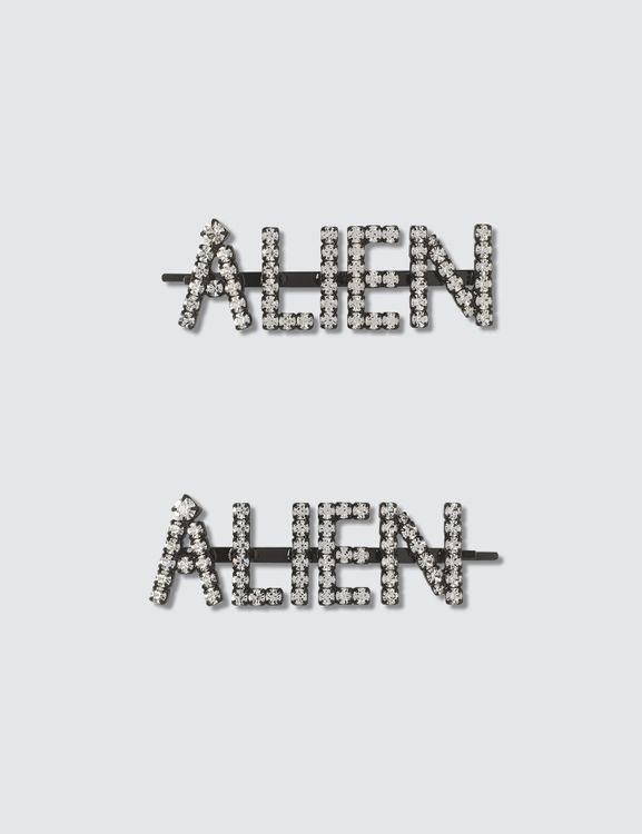 Ashley Williams ALIEN Hair Pins