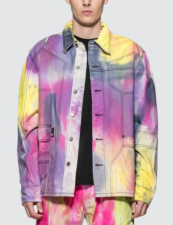Liam Hodges Spray Dyed Denim Shirt