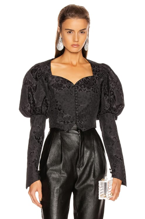 MARIANNA SENCHINA Shortened Bustier Jacket