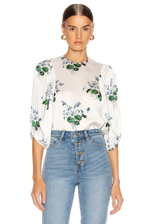 Les Reveries Puff Sleeve Top