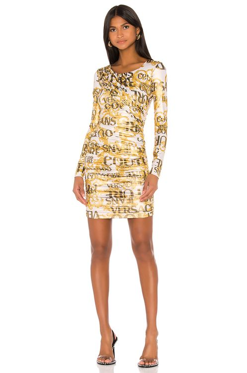 VERSACE JEANS COUTURE Long Sleeve Dress