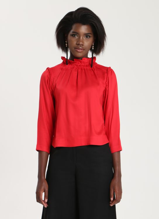 Ease Ease Shena Top Red