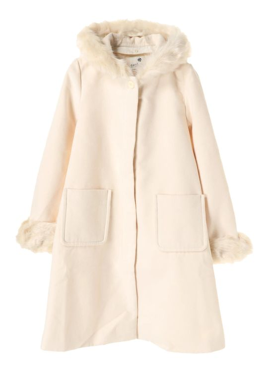 Earth, Music & Ecology Bashira Coat - Off White