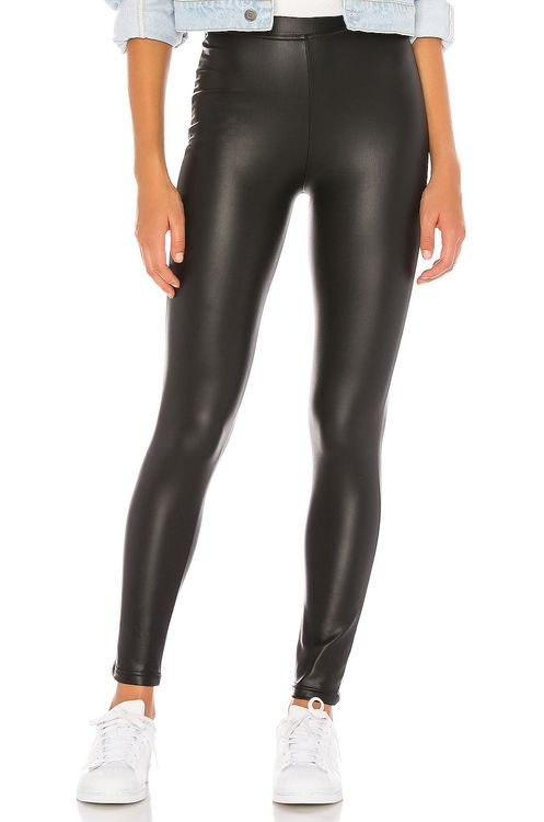 Plush Fleece Lined High Waisted Liquid Legging