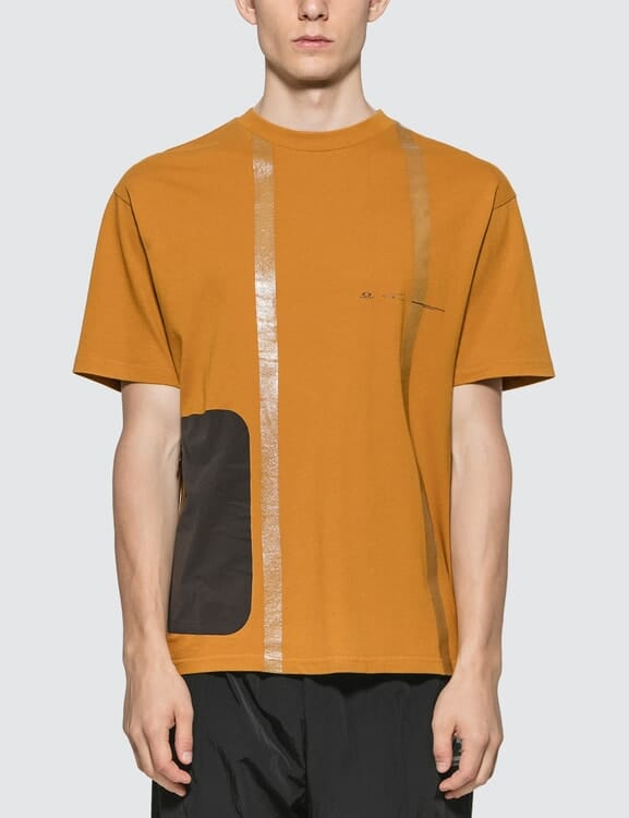 Oakley by Samuel Ross Nylon Patch Taped T-shirt
