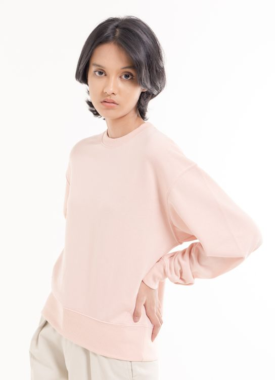 Green Parks Ruth Sweater - Light Pink