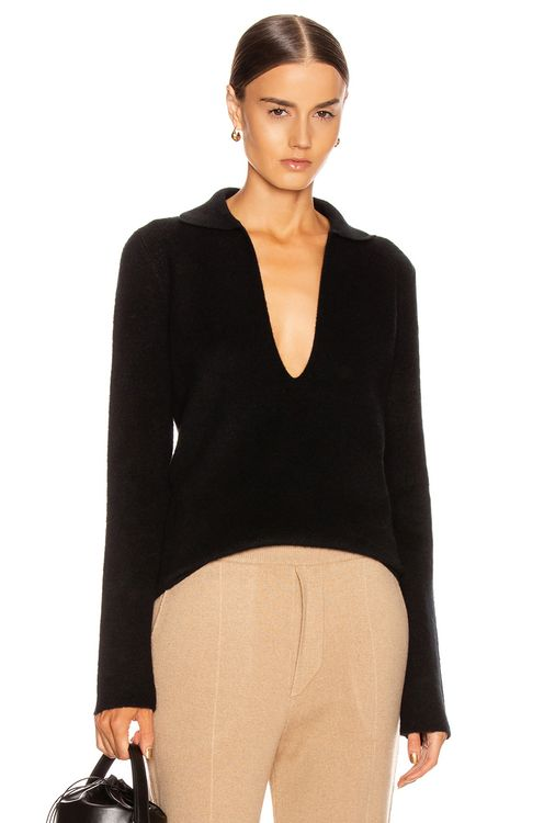 Jil Sander Deep V Sweater