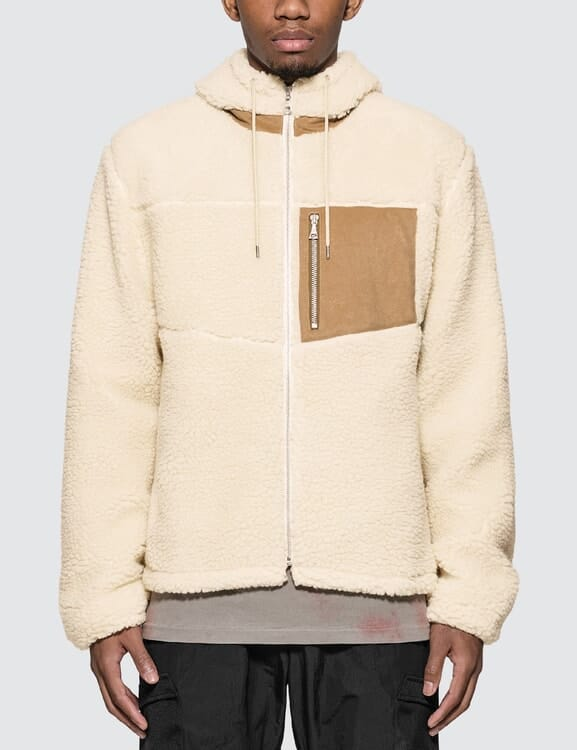 JOHN ELLIOTT Boulder Polar Fleece Full Zip Jacket