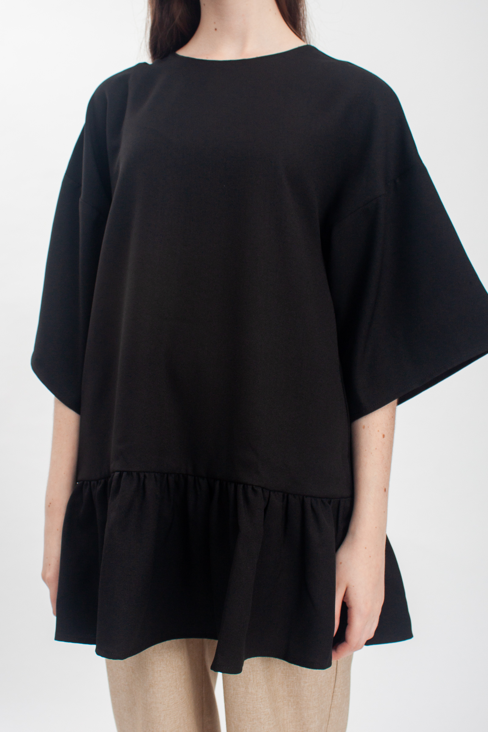 Shopatvelvet Norma Top Black