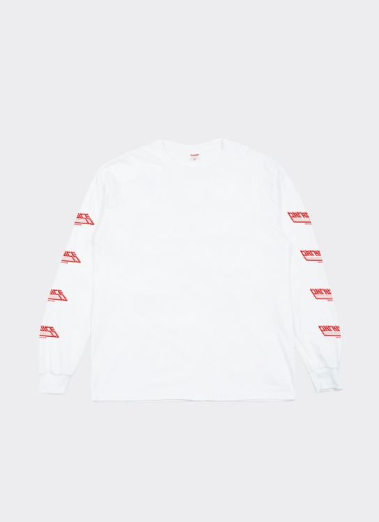 Paradise Youth Club Roads Ls Tee - White