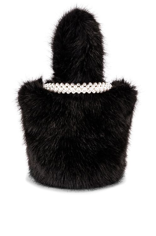 Shrimps Eva Faux Fur Bag
