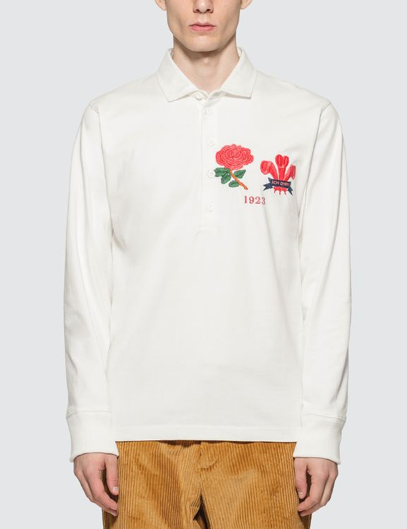 Rowing Blazers England-Wales 1923 Authentic Heavyweight Rugby Shirt