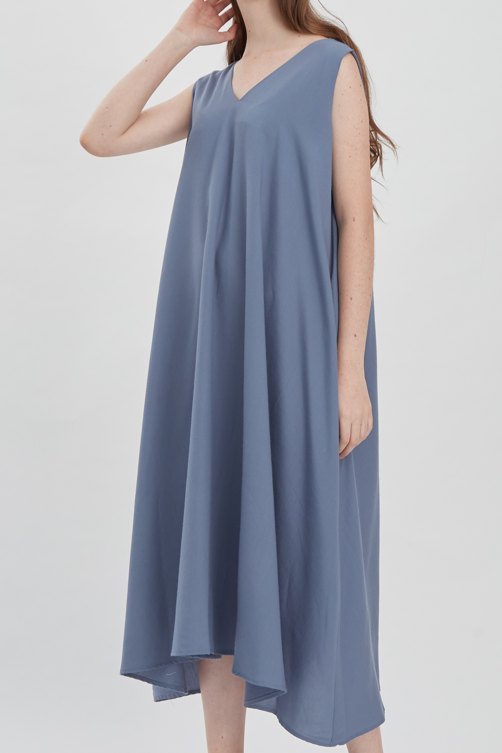 Shopatvelvet Vega Dress Ice Blue