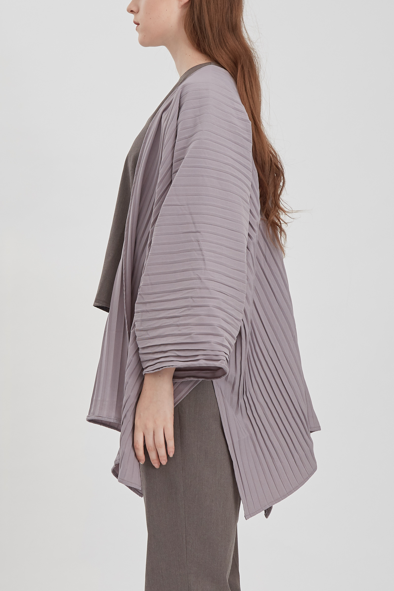 Shopatvelvet Ava Pleated Cardigan
