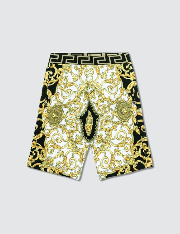 Versace Allover Printed Shorts (Toddler)