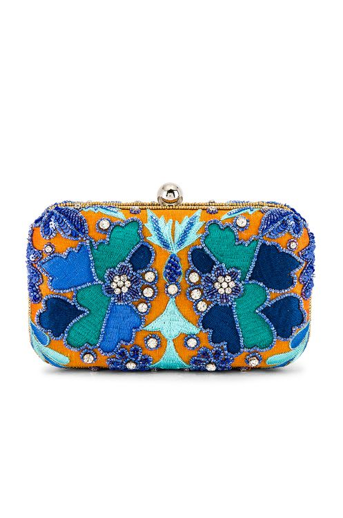 From St Xavier Kaleidoscope Box Clutch