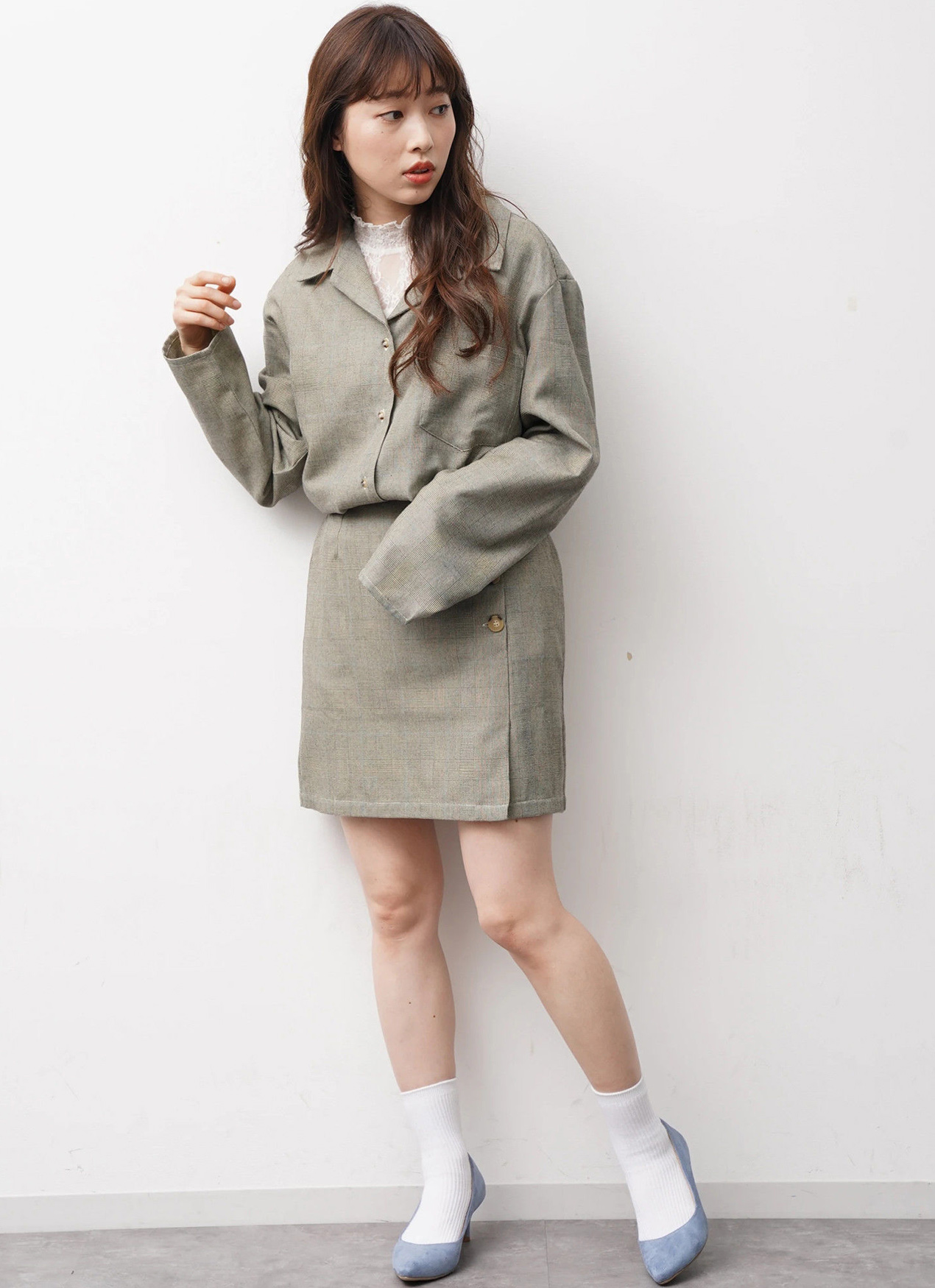 E-hyphen World Gallery Sasha Jacket - Beige