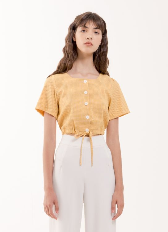 BOWN Raellyn Top - Yellow