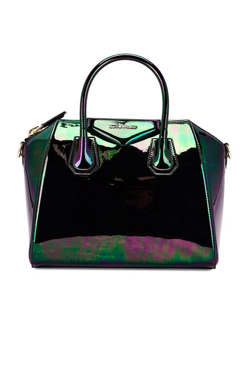 Givenchy Small Antigona Iridescent Leather Bag