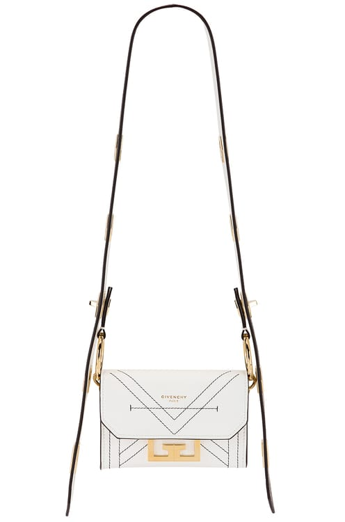 Givenchy Nano Eden Leather Contrasted Details Bag