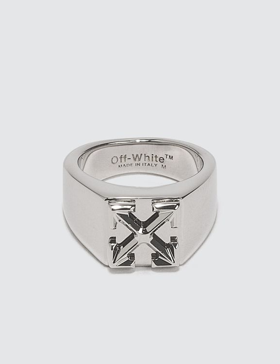Off-White Arrow Ring