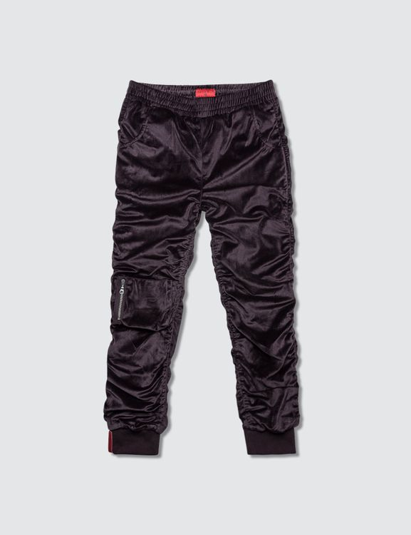 Haus of JR Viola Velour Bomber Pants