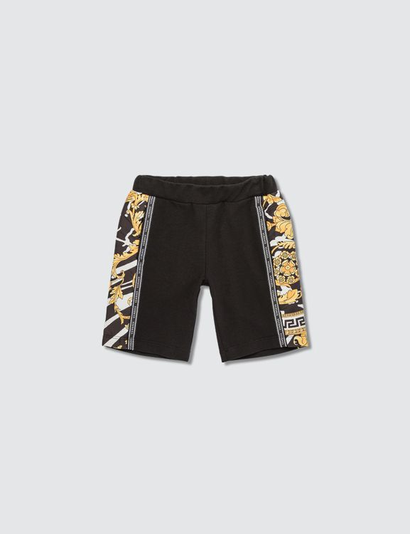 Versace Savage Barocco Motif Shorts (Toddler)