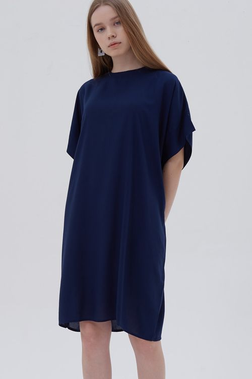 Shopatvelvet Legal Dress Navy