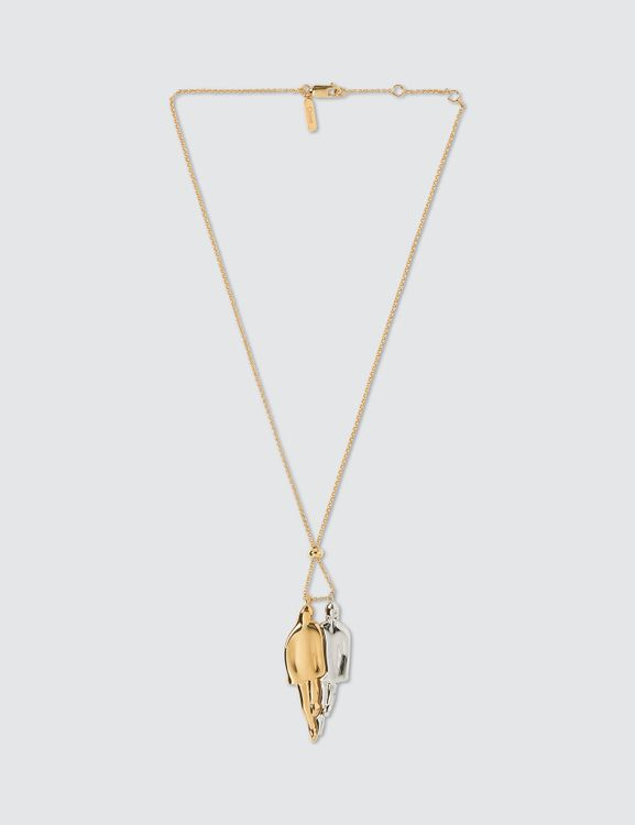 Chloé Two-tone Figure Pendant Necklace